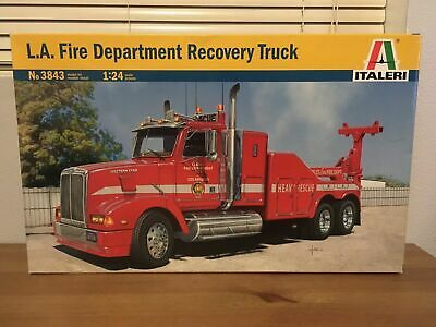 L.A. FIRE DEPARTAMENT RECOVERY TRUCK LOS ANGELES 1:24 ITALER 3843 IN BOX