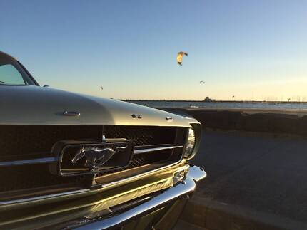 CHAUFFERED 1965 FORD MUSTANG FOR HIRE
