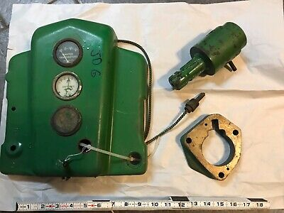 3 Pc. Vintage John Deere Water Temp Amp Pto Antique Tractor Part