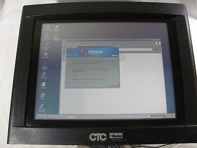 Ctc Parker Hpc Powerstation 15 Color Touch Screen Hpc15t-47-xha-bd3 Used