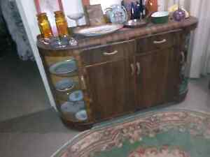 Vintage retro display cabinet Calwell Tuggeranong Preview