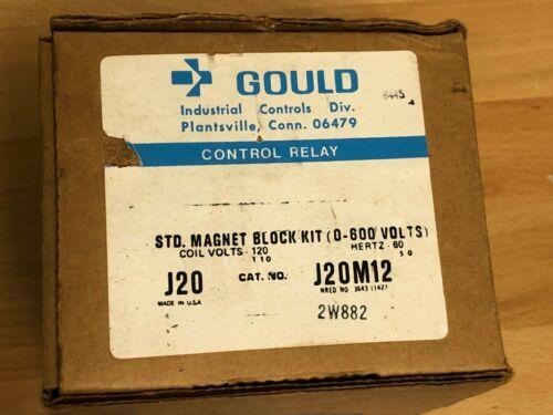 J20M12 Gould Control Relay