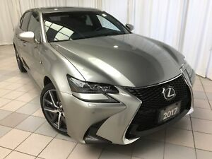 2017 Lexus GS 350 F Sport Series 2 Pkg: 1 Owner, Fully Serviced.