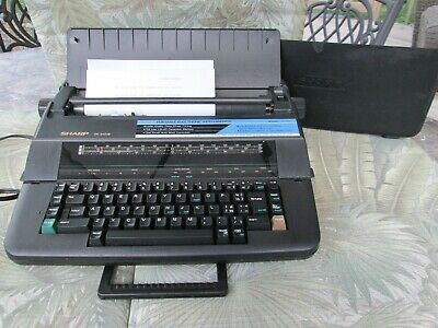 Sharp Pa 3100 Ii Typewriter Portable Electronic Intelliwriter Works Great