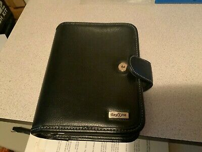 Day One Classic Planner Faux Black 6 Ring Binder