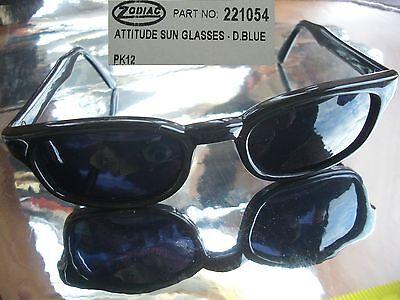 Schneebrille Dark Blue Zodiac Sonnenbrille neu Sun Glasses unisex