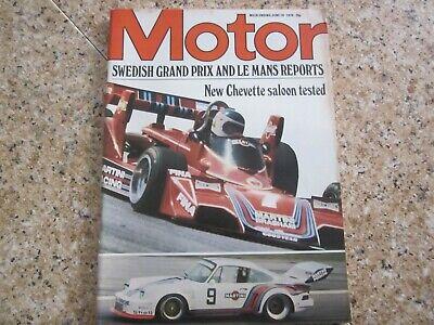June 19th 1976, MOTOR, Vauxhall Chevette, Jody Scheckter, Chevrolet Corvette. comprar usado  Enviando para Brazil
