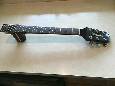 Takamine Acoustic Guitar Neck from a mid 1980's EF-360C (Cutaway Electric)