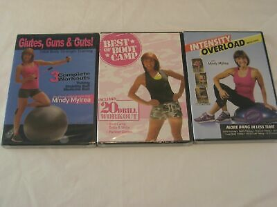 Intensity overload Best Boot Camp GGG Mindy Mylrea workout fitness dvd Lot of