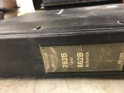 John Deere 762b862b Scraper Technical Manual