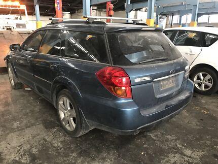 Wrecking 2005 Subaru Outback Wagon 3.0L In Blue Colour