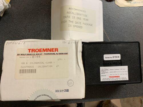 Troemner 8144 100g Calibration Weight