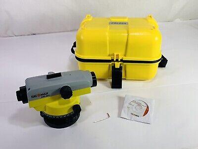 Geomax Ge Max Zal224 Series Automatic Survey Level Guaranteed To Work Perfect