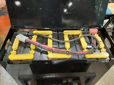 12-85-13 24 Volt Forklift Battery Tested Serviced. Great Condition. 510680ah