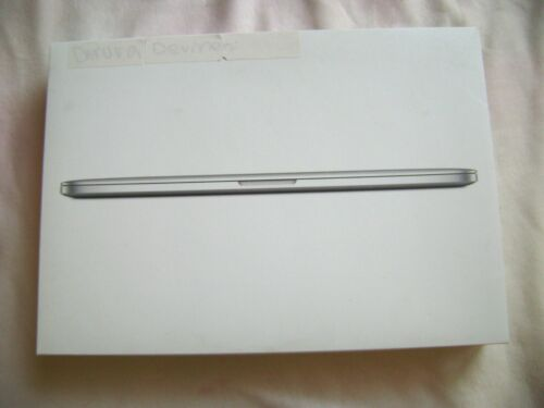 Empty box ONLY - Apple Mac 15-inch MacBook Pro A1398 *BOX ONLY*