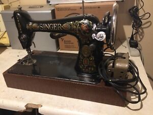 1913 singer electric sewing machine