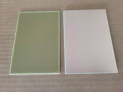 10 Pcs Single Sided Copper Clad Circuit Board Laminate Fr-4 .040 3 X 4 3 Oz.