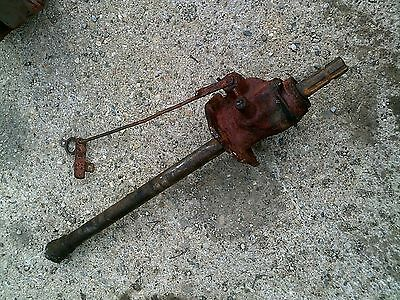 Farmall H Early Sh Tractor Ih Power Take Off Assembly Engagement Linkage Rod