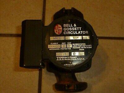 Bell Gossett Nrf-22 Cast Iron Circulator Furnace Pump 2 Gaskets Inc. Used