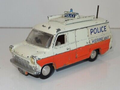 DINKY FORD TRANSIT POLICE REPLACEMENT STICKER SET 2ND ISSUE