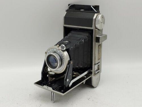 Vintage Universal Roamer II Folding Camera w/ 100mm F4.5 Lens - Aluminum - USA