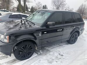 Land Rover Range rover sport supercharged model 2010