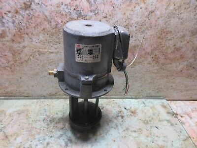 Chiu Wei Strong Coolant Pump Jw-4 3 Phase Mighty Comet Vmc-500 Cnc Vertical Mill