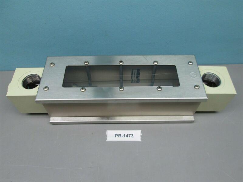"""Ametek Mil-5606 Oil Flow Meter 0-35 GPM 1.5-34-P10 H8731 PG2 1.5"""" tube New"""