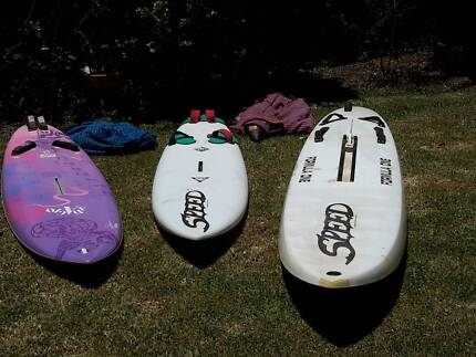 Windsurfers x3 in good to excellent condition