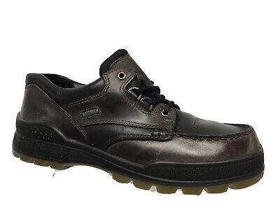 Ecco Track II Low GTX  Leather Gore-Tex Waterproof Hiking Casual Shoes Men Sz