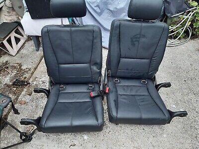 Mercedes ML 3rd Row black leather seats