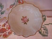 VINTAGE J & G MEAKIN ENGLAND JAM/BUTTER DISH PINK ROSE 14.5CM Loganholme Logan Area Preview