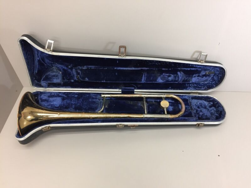 Vintage King Trombone 3-B USA With Case
