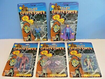 Used, Vtg. TALES FROM The Crypt CRYPTKEEPER~Lot of 5 FIGURES(1990) by ACE-Frankenstein for sale  Richmond