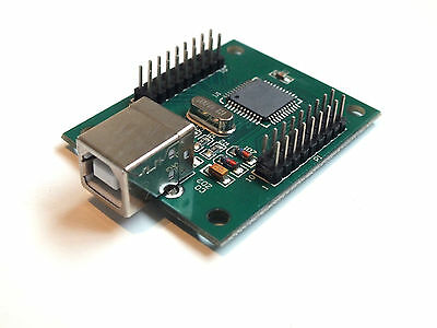 Arcade USB Interface Controller 2 Player - Mame - Raspberry pi - Retropie PC MAC