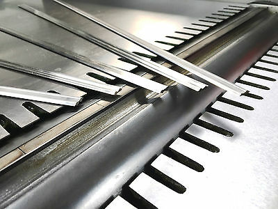 Scm 410mm Hss Tersa Planer Blade Knives - 2 Edge Reversible Planer Blades - Best