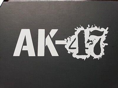 AK-47 Assault rifle Decal Sticker Kalashnikov ak47 automatic Gun Case gun safe