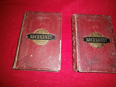 2 Bände  Universal Lexikon der Kochkunst,  3.Auflage v.J.J, Weber,Leipzig 1886