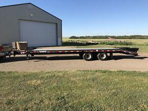 2009 felling 24 ft tandem dual trailer