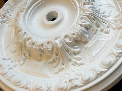 "50cm Ceiling Rose ""WIND"" Polystyrene Easy Fit Very Light Weight"