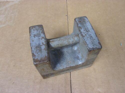 Antique Vtg Fairbanks Morse Calibration Test Standard Weight 2 lb Scale Tool USA