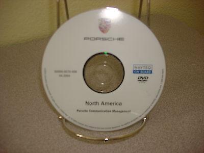 2005 Porsche OEM Cayenne Cayman Boxster 911 Carrera Navigation DVD