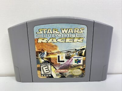 Star Wars: Episode One I: Racer (Nintendo 64, 1999) Cleaned/Tested/Authentic N64