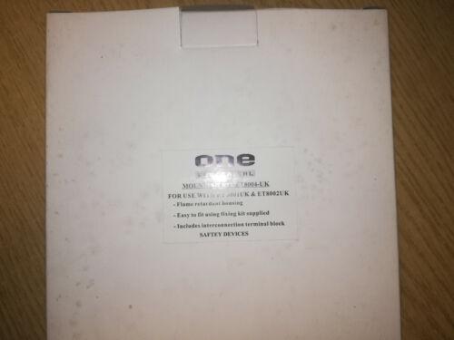 ONE+ELECTRICAL+MOUNTING+KIT+ET8004-UK-+HEAT+AND+SMOKE+ALARM+BASE