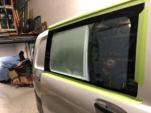 Oem custom windows for sprinter metris transit
