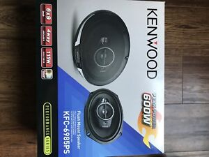 Kenwood 6x9 inch speakers brand new