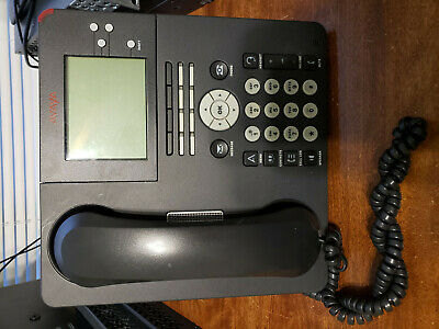 Lot Of 10 Tested Avaya 9650 - Voip Digital Ip Office Desk Phones