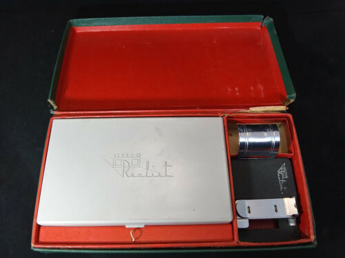 STEREO REALIST ACCESSORY KIT WITH CASE. DAVID WHITE CO. - VINTAGE. STEREOSCOPIC