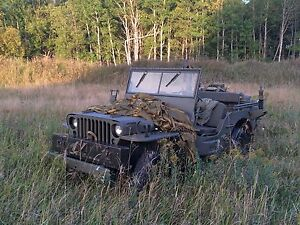 Willys jeep mb gpw
