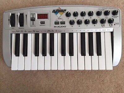 M-Audio Ozone Midi Keyboard And Interface for sale  Shipping to Ireland